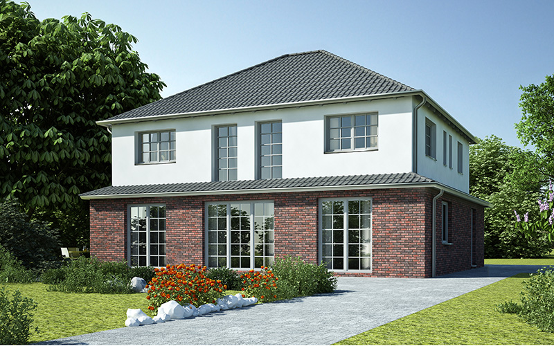 einfamilienhaus bungalow pultdachhaus stadtvilla doppelhaus friesenhaus. Black Bedroom Furniture Sets. Home Design Ideas